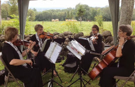 Mountain Aire Strings at White Gates Farm, Tamworth, NH